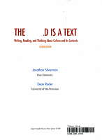 The World is a Text PDF