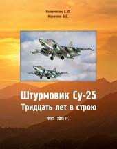 Штурмовик СУ-25: Тридцать лет в строю 1981-2011 гг.