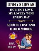 Lovely Love Me Book PDF