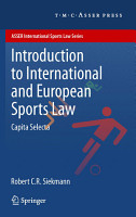 Introduction to International and European Sports Law PDF