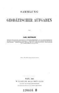 Sammlung geod  tischer Aufgaben PDF