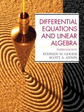 Differential Equations and Linear Algebra: Edition 3