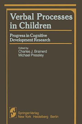 Verbal Processes in Children PDF