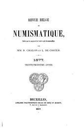 Revue belge de numismatique et de sigillographie: Volume33
