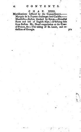 The History of the War in America  Between Great Britain and Her Colonies from Its Commencement to the End of the Year 1778 PDF