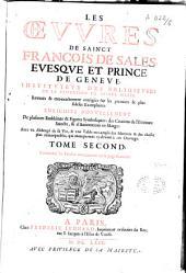 Les oeuvres de Sainct François de Sales