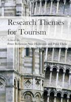 Research Themes for Tourism PDF