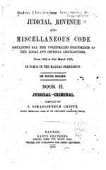 Judicial, Revenue and Miscellaneous Code