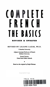 Complete French PDF
