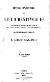 Lettere diplomatiche: Volume 1