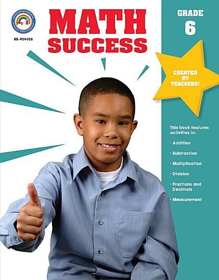Math Success  Grade 6 PDF