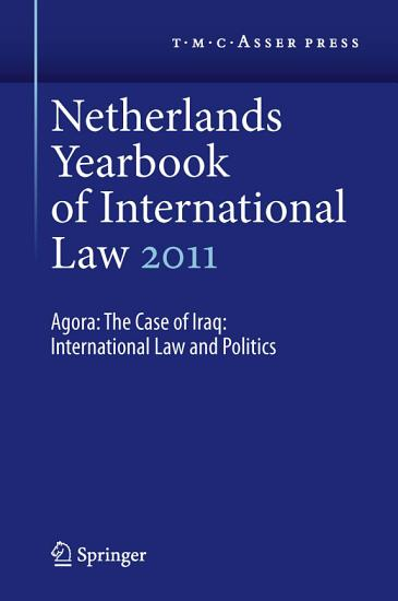 Netherlands Yearbook of International Law 2011 PDF