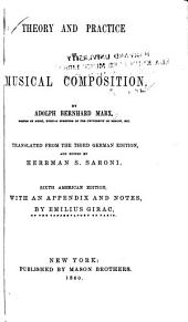 Theory and Practice of Musical Composition