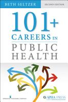 101  Careers in Public Health  Second Edition PDF