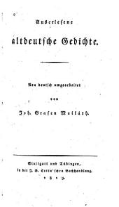 Auserlesene altdeutsche Gedichte
