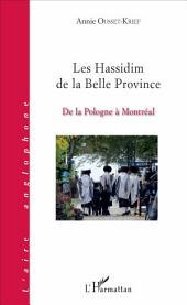 Les Hassidim de la Belle Province: De la Pologne à Montréal