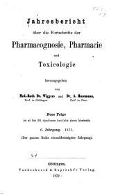 Jahresbericht der Pharmazie: Band 6