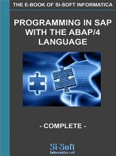 Programming in SAP with the Abap/4 language - complete