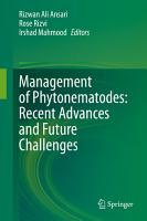 Management of Phytonematodes  Recent Advances and Future Challenges PDF