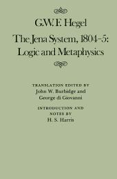 Jena System, 1804-5: Logic and Metaphysics