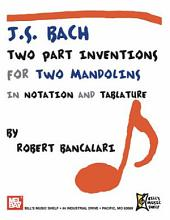 J. S. Bach: Two Part Inventions for Two Mandolins