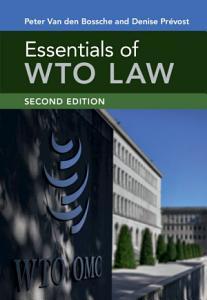 Essentials of WTO Law PDF
