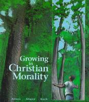 Growing in Christian Morality PDF
