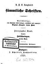 Prosaische Werke: in dreißig Bänden, mit ein und dreißig Stahlstichen. Zeitschwingen ; Bd. 2. 15