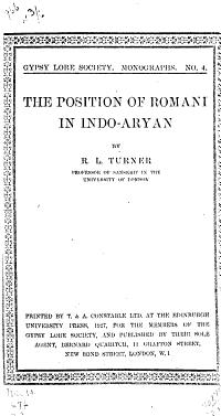The Position of Romani in Indo Aryan PDF