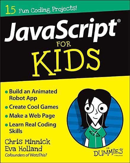 JavaScript For Kids For Dummies PDF