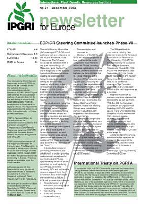 Newsletter for Europe PDF