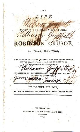 The Life and Most Surprising Adventures of Robinson Crusoe of York  Mariner PDF