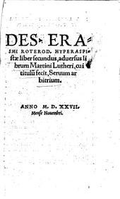 Hyperaspistae liber secundum