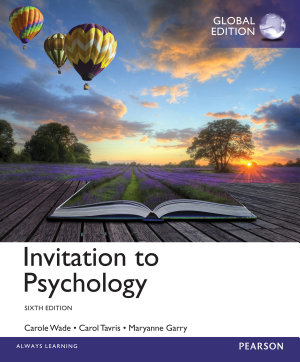 Invitation To Psychology Global Edition