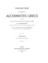 Texte grec, avec variantes, notes et index