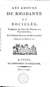 Les amours de Rhodante et Dociclès