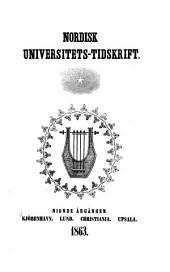 Nordisk universitets-tidskrift: Bind 9