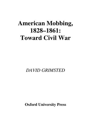 American Mobbing  1828 1861