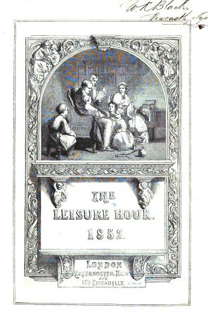 The Leisure Hour Monthly Library PDF