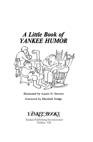 A Little Book of Yankee Humor