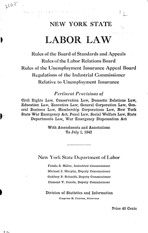 Labor Law PDF