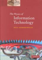 The Physics of Information Technology PDF