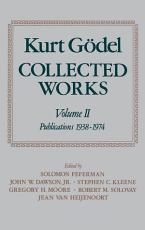 Kurt G  del  Collected Works  Volume II PDF