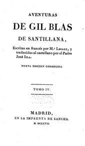Aventuras de Gil Blas de Santillana: Volumen 4