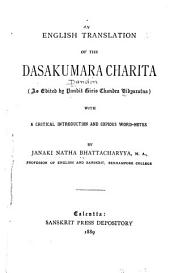 English Translation of the Dasakumaracharita