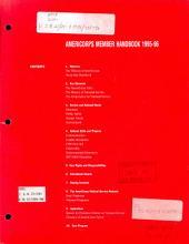 AmeriCorps member handbook, 1995-96: Volumes 21-29