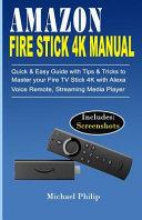 Amazon Fire Stick 4k Manual