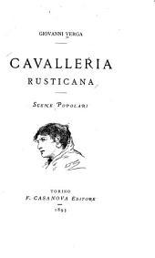 Cavalleria rusticana: scene popolari