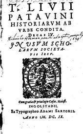 Historiarum ab urbe condita decas quarta
