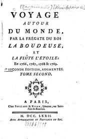 Voyage Autour Du Monde Par La Frégate Du Roi La Boudeuse Et La Flûte L'Étoile en 1766, 1767, 1768 & 1769: 2